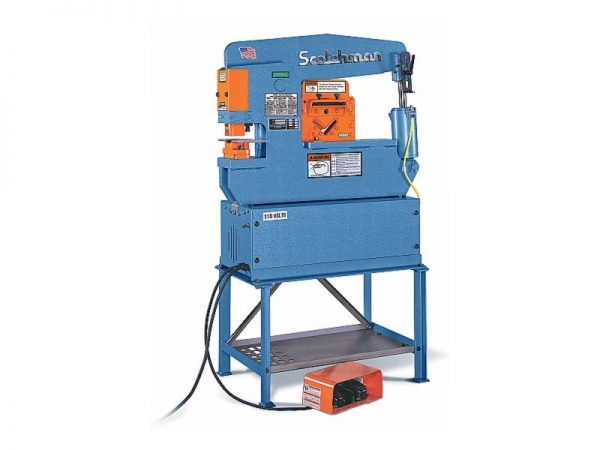 Scotchman Hydraulic Ironworker Model Porta Fab 45