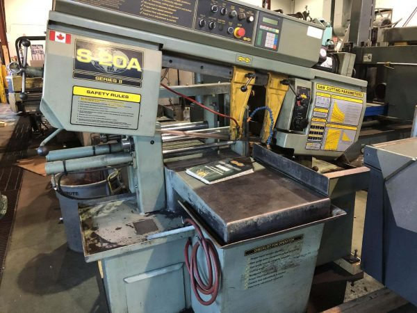 HYD-MECH MODEL S-20A SERIES II HORIZONTAL BANDSAW