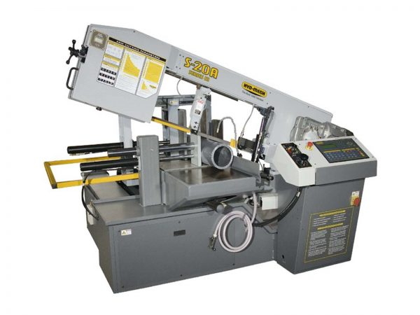 HYD-MECH MODEL S-20A SERIES III AUTOMATIC PIVOT STYLE BAND SAW